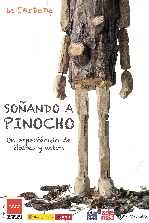 Resultado de imagen de soñando a Pinocho teatro de títeres tartana